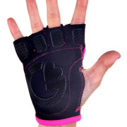 Black with pink piping palm